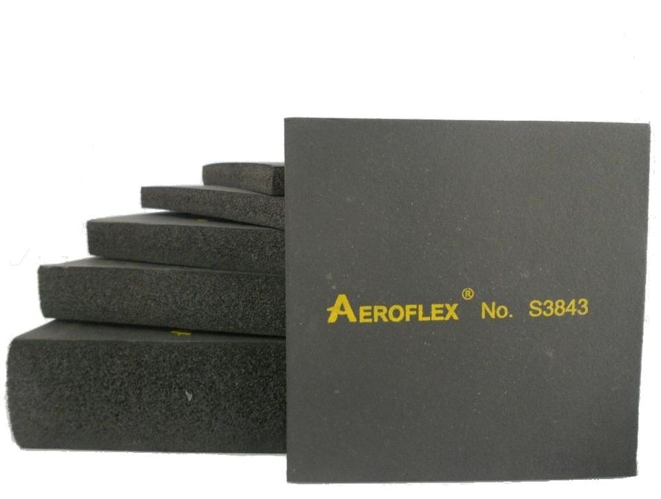 """ยางแผ่น AeroFlex  No.S2043 หนา 2"""" ขนาด 4 x 3 ฟุต"""