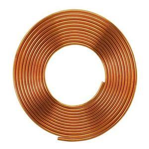 """ท่อทองแดงแบบม้วน ขนาด 1/4"""" หนา 0.41 mm"""