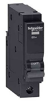 SCHNEIDER เบรคเกอร์ 1P 63A 6KA QO163VSC6T สีดำ