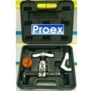 ชุดบานท่อทองแดง ชนิดลูกเบี้ยว (ชุดบานแป๊ป) 'PROEX' CH-806AL (1/4 - 3/4นิ้ว) พร้อมตัวตัดแป๊ป และ ลีมเมอร์พลาสติก