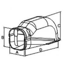 Total Duct : slim wall : ฝากครอบ BA - 65